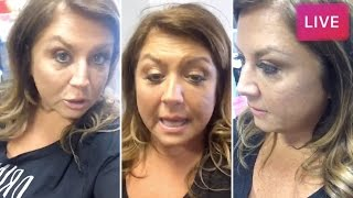abby lee miller livestreams before going to jail