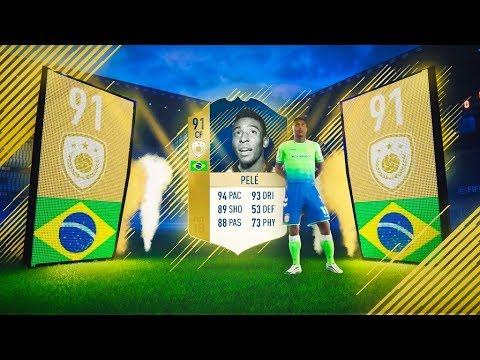 how to make pele in fifa 18