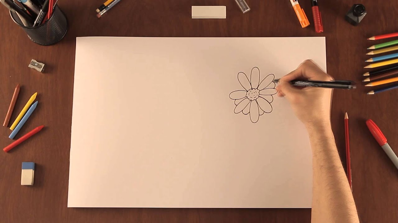 Cmo dibujar flores  Tips de dibujo  YouTube