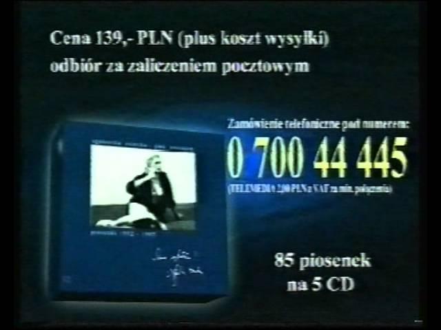 Świąteczny blok reklamowy TVN 1997 r. #1