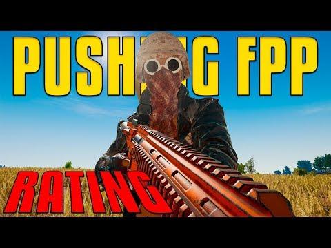Pushing FPP Rating | PUBG