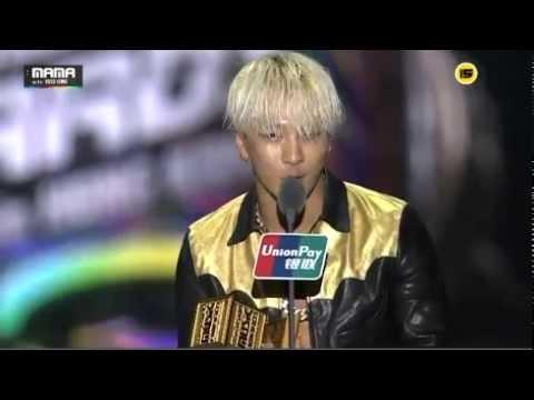 [MAMA031214]TaeYang (Eyes,Nose,Lips) SONG OF THE YEAR