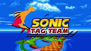 Sonic Mania: Sonic Tag Team (Unfinished Demo Ver)