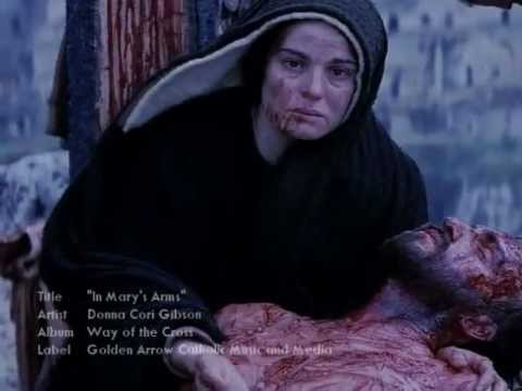 """WAY OF THE CROSS - STATION 13: """"IN MARY'S ARMS"""""""