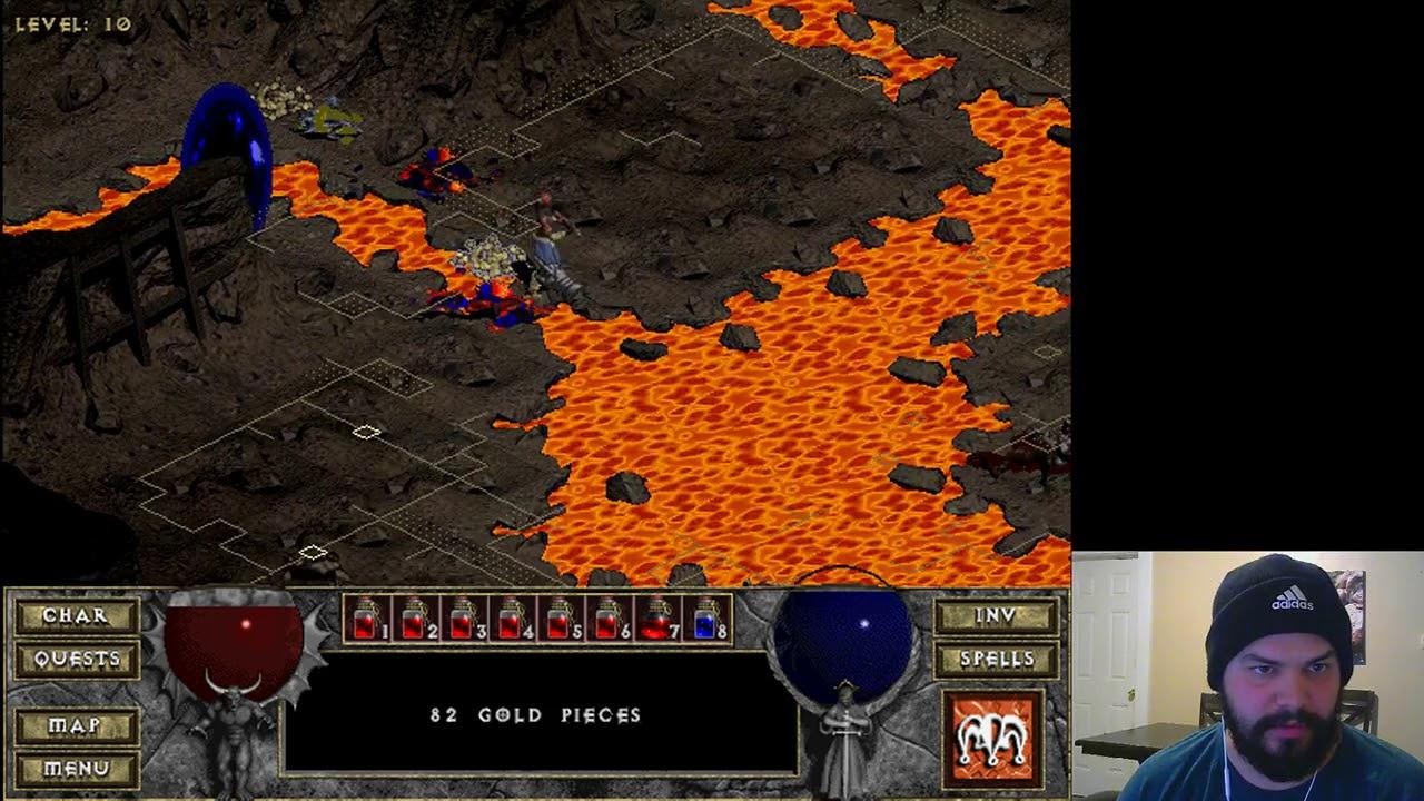 Lets Play Diablo Hellfire Monk Part 2 Youtube