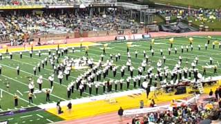 Appalachian State University Marching Mountaineers - Half Time Show .. Sept 29, 2012