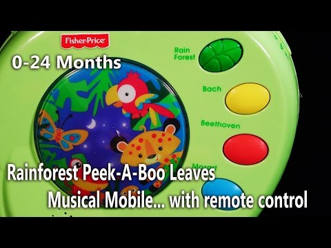 Rainforest Baby Crib Musical Mobile from Fisher Price 0-24 months Nature Sounds