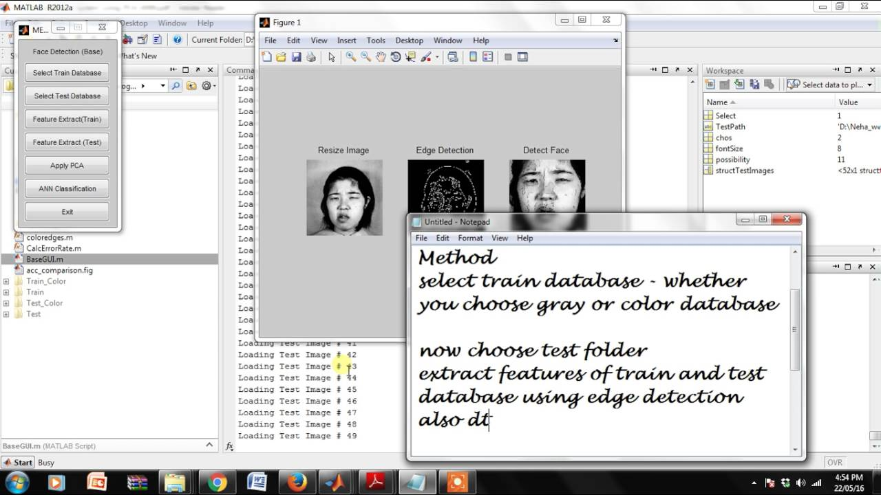 Face Recognition System Using PCA ANN Technique with Feature Fusion Method