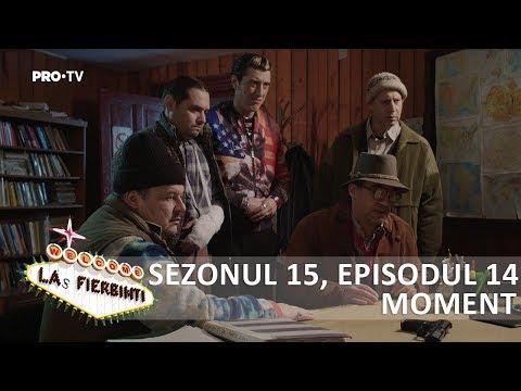 Las Fierbinti - SEZ. 15, EP. 14 - Vasile a recuperat pistolul lu' Robi