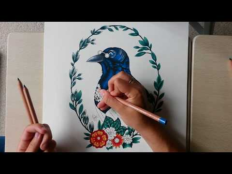 how-to-cheat-at-blending-coloured-pencils-|-super-simple-tutorial
