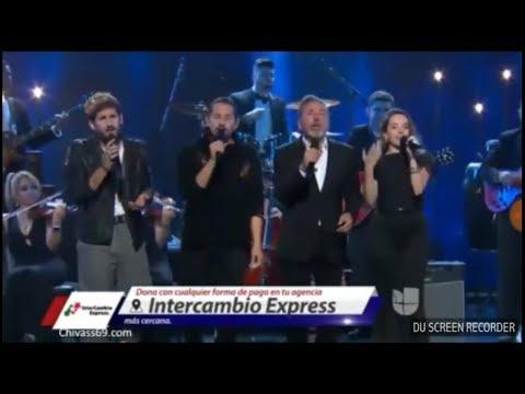 Ricardo Montaner Canta Con Sus Hijos - Será  (Teleton USA 2018) #EstamosUnidos