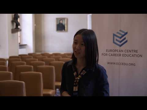 Students talk | Li Fangyi about the Business Law program | European Centre for Career Education ECCE