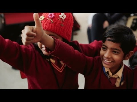 Student voice: Learning to be a superhero (Teach For India)