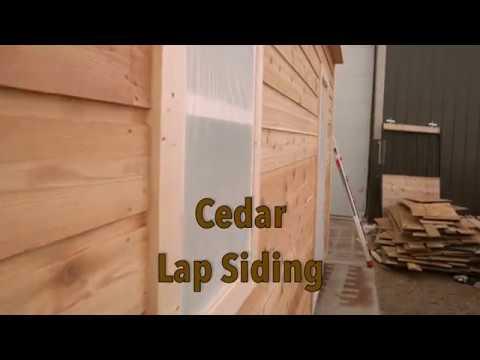Cedar Lap Siding