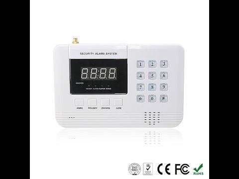 Алармена система с 99 безжични зони PSTN ( за мобилен и стационарен телефон) 13