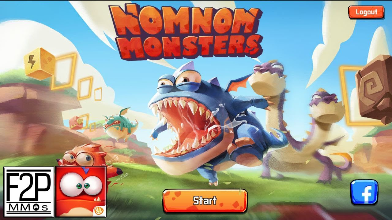 NomNom Monsters Gameplay Android / iOS