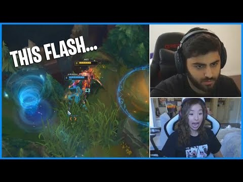 If You Have a Bad Day, Watch This Pokimane's Flash ft Yassuo | LoL Daily Moments Ep 555