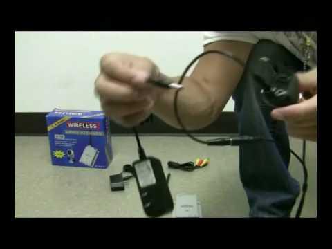 How to make any CCTV Camera Wireless with Wireless Adaptor ...