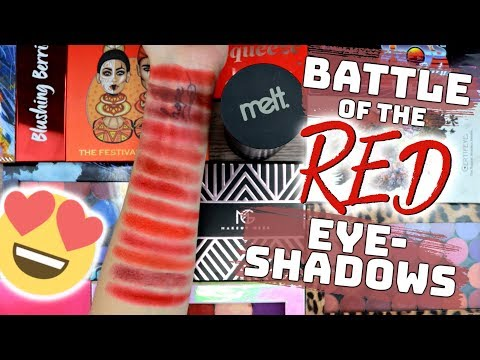 Battle Of The Red Eyeshadows thumbnail