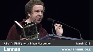 Kevin Barry with Ethan Nosowsky, Reading, 4 March 2015