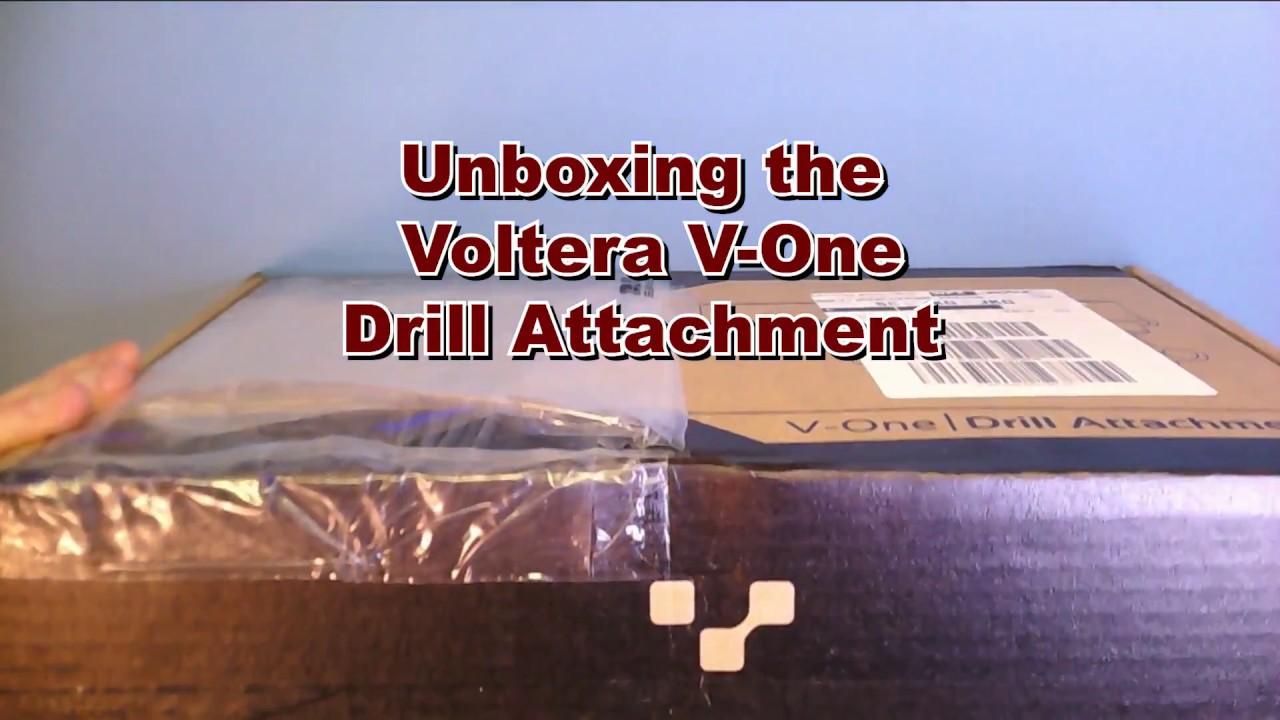 Unboxing the Voltera V-One Drill Attachment
