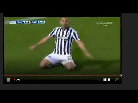 Amazing goals Koulouris  Efthimis    Super  Goal   2 :1  PAOK vs   Xanthi