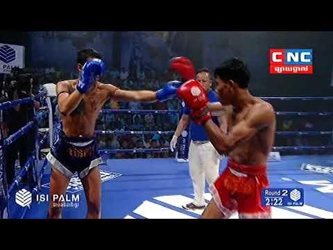 Kun Khmer, សុខ សាវិន Vs ថៃ, Sok Savin Vs Ekborot (Thai), CNC boxing 11 Nov 2018   Fights Zone
