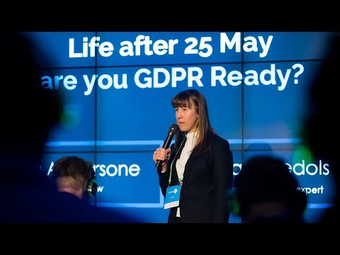 Workshop: Life after May 25th—are you GDPR Ready?