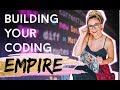 BUILDING AN EMPIRE AS A DEVELOPER | daily life of remote software developers