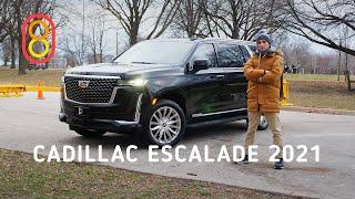 Cadillac Escalade 2021 — вот это МОЩНО!