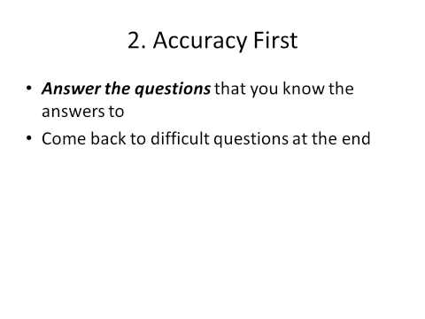 AP Multiple Choice Tips