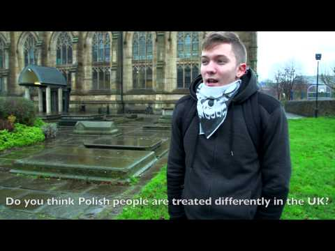 Polish immigrant about living in the UK.