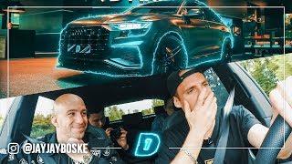 """Heeft Giel De dikste Audi Q8 van NL!? // """"De auto van"""" DAY1"""