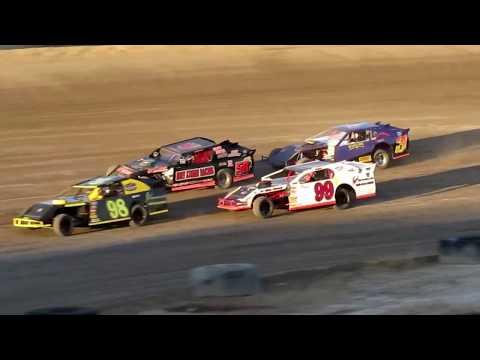 Desert Thunder Raceway I.M.C.A Sport Mod Heat Races 4/14/18