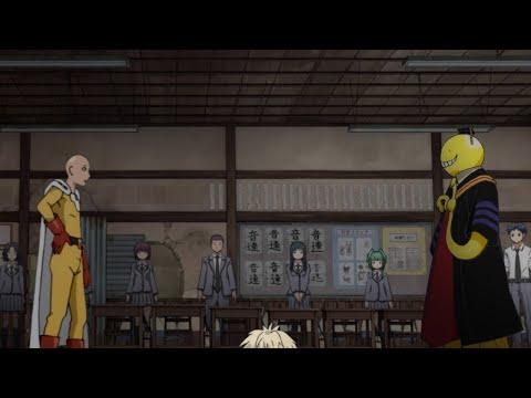 【动漫乱入#2】一拳超人vs杀老师【中】Saitama Vs Koro Sensei#2