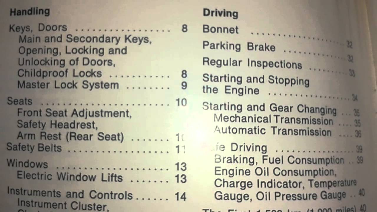 small resolution of mercedes benz w114 w115 owner s manual 200 230 4