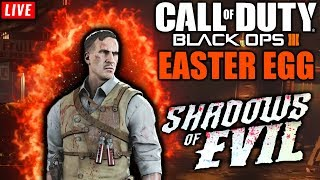 🔴 SHADOWS OF EVIL EASTER EGG - Call Of Duty: Black ops 3 - #LIVETODASEXTA #VEMPRALIVE