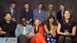 'The Good Place' Cast Talks Season 3 | Comic-Con 2018 | TVLine