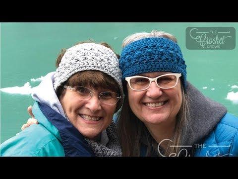 How to Crochet A Headband: Hugs & Kisses Ear Warmer