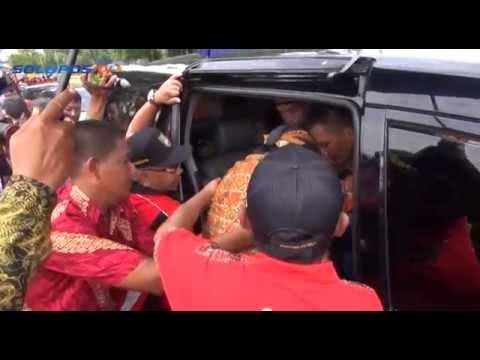 Dilengserkan, Paku Buwono XIII Tampil di Depan Umum