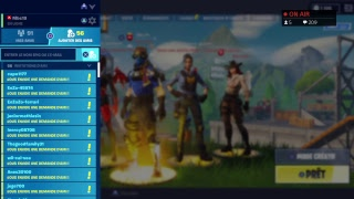 """LIVE FORTNITE PS4 FR NEW PACK PS PLUS""""PACK CARBONE"""""""