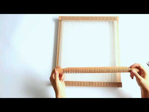 Craft Boutique - How To Use Our Weaving Loom Kit / Tapestry Loom Set