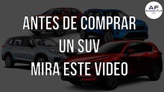 Antes de Comprar un SUV Mira este vídeo! | Escape /Cx 5/ Sportage/ Rav4