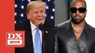 Kanye West Reaffirms His Allegiance To Donald Trump