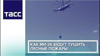 Как Ми-26 будут тушить лесные пожары