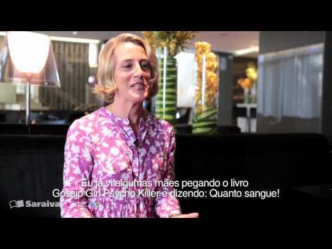 Cecily Von Ziegesar: autora de Gossip Girl, fala de seu novo livro, recheado de sangue