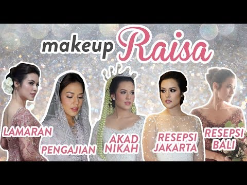 5 Top Makeup Artist di Nikahan Raisa!