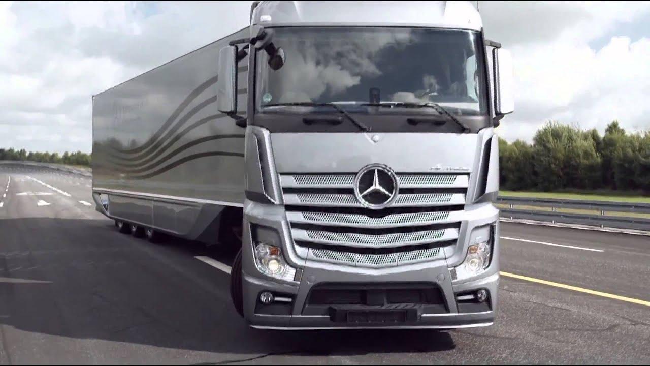 New 2012 mercedes benz aerodynamics truck and trailer for 2012 mercedes benz truck