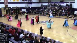 Michigan Ballroom Competition 2014 Novice Standard Waltz Semi-Final