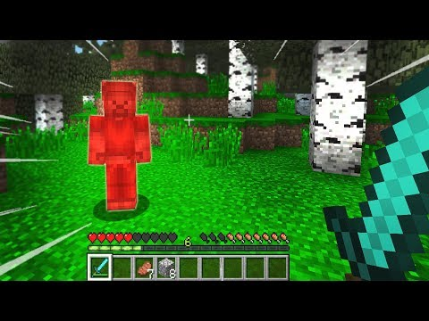 DO NOT LOOK AT RED STEVE! (Minecraft)